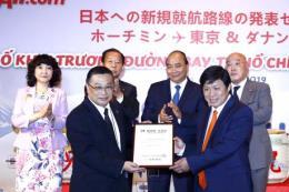 Vietjet Air công bố mở 2 đường bay mới đi Nhật Bản