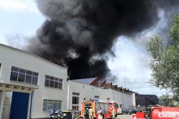 Cháy Trung tâm Thương mại Đồng Xuân của người Việt ở Berlin