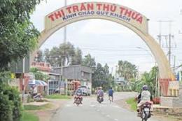 Đầu tư dự án xây dựng và kinh doanh kết cấu hạ tầng KCN Thủ Thừa