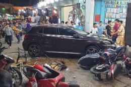 Điều tra nguyên nhân vụ tài xế nữ lái Mercedes đâm hàng loạt xe máy