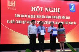 Công bố điều chỉnh quy hoạch chung thành phố Vũng Tàu đến năm 2035