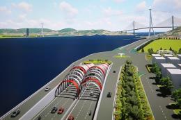 Quảng Ninh sẽ xây dựng hầm đường bộ qua vịnh Cửa Lục