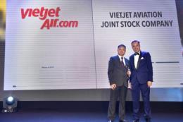 Vietjet Air lọt top 'Nơi làm việc tốt nhất châu Á'