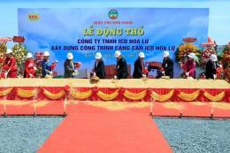 Xây dựng cảng cạn ICD Hoa Lư công suất 900.000 container/năm