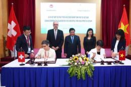 Việt Nam - Thụy Sĩ hợp tác phát triển khu công nghiệp sinh thái