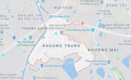 Bản đồ quy hoạch giao thông phường Khương Trung, Thanh Xuân, Hà Nội