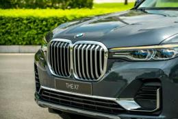 Chi tiết xe thể thao đa dụng SAV BMW X7 full-size giá 7,5 tỷ đồng