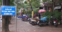 Tuyến phố an toàn thực phẩm tại Hà Nội: Nhiều chủ cơ sở chưa ủng hộ