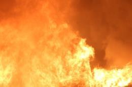 Cháy lớn tại ngôi nhà 3 tầng ở Sa Pa