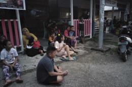 Hàng trăm người phải sơ tán vì động đất 7,3 độ Richter tại Indonesia