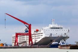Cảng quốc tế Long An gặp khó khi tiếp nhận tàu lớn
