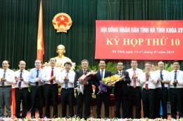 Ông Trần Tiến Hưng được bầu làm Chủ tịch UBND tỉnh Hà Tĩnh