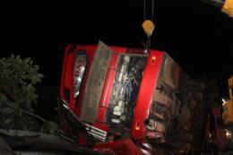 Lật xe khách tại Đắk Lắk, nhiều người thương vong