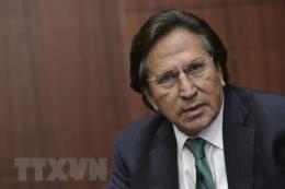 Cựu Tổng thống Peru bị bắt tại Mỹ