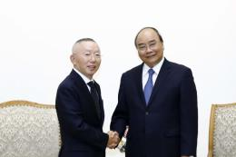 Thủ tướng Nguyễn Xuân Phúc tiếp Tập đoàn Fast Retailing, Nhật Bản