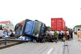 Vụ tai nạn giao thông ở Hải Dương: Thủ tướng gửi công điện về khắc phục hậu quả