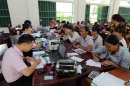 Hơn 7.600 hộ tại huyện Na Hang còn dư nợ các chương trình cho vay ưu đãi