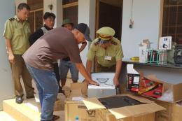 Hơn 26.000 sản phẩm hàng hóa nhập lậu bị thu giữ