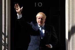 Thủ tướng Anh Boris Johnson và