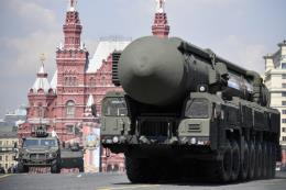 Nga thử tên lửa đạn đạo liên lục địa Topol