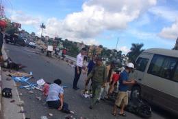 Thông tin mới nhất vụ xe khách tông hàng loạt xe máy tại Quảng Ninh