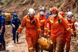 Sạt lở đất tại Trung Quốc làm 38 người thiệt mạng và 13 người mất tích
