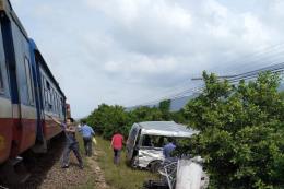 Tai nạn giao thông đường sắt nghiêm trọng, 4 người thương vong