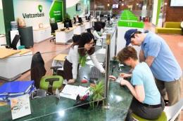 Vietcombank hoàn thành 85% mục tiêu lợi nhuận sau 9 tháng