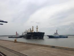 Vụ tàu Fareast Honesty đâm va cầu cảng SSIT: Đình chỉ hoa tiêu dẫn tàu