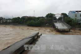 Cầu Ngòi Thia sắp thông xe trở lại sau sự cố bị sập