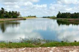 Bến Tre khánh thành hồ chứa nước ngọt huyện Ba Tri