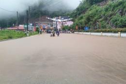 Sơn La mưa to, gây ngập úng ở nhiều nơi