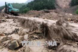 Sạt lở đất tại Lào Cai làm một người chết