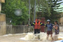 Nhiều tuyến đường ở Sơn La bị trượt ta luy dương và ngập úng