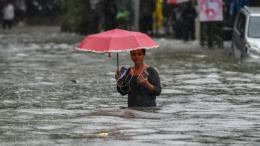 Ấn Độ: Hàng trăm người mắc kẹt do mưa lớn