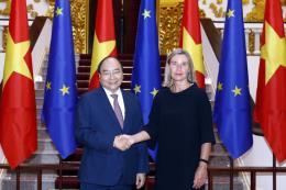Thủ tướng Nguyễn Xuân Phúc tiếp Phó Chủ tịch Ủy ban châu Âu