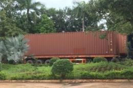 """Tây Ninh: Xe container hàng quá cảnh bị """"rút ruột"""" trị giá gần 36.000 USD"""