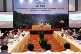 Năm 2020 sẽ có 4 tỉnh thí điểm chi trả dịch vụ hấp thụ và lưu trữ các bon của rừng