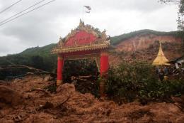 Lở đất tại Myanmar khiến hàng chục người thiệt mạng