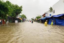 Đảo Phú Quốc tiếp tục hứng chịu mưa lớn gây ngập cục bộ