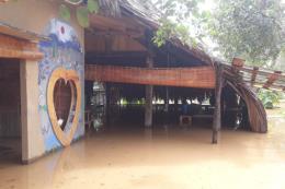 Thủy điện ngưng xả tràn, nước lũ trên sông Đồng Nai đang xuống