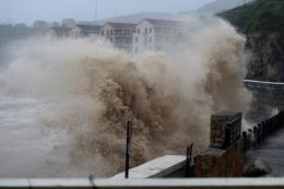 Trung Quốc: Gần 30 người thiệt mạng và mất tích do bão Lekima