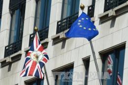"""Cuộc chiến thương mại của Mỹ khiến EU """"gặp nguy"""" với Brexit không thỏa thuận"""