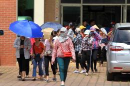 Lãnh đạo Công ty KaiYang Việt Nam cam kết sẽ giải quyết các quyền lợi cho người lao động