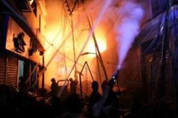Hỏa hoạn tại nhà máy sản xuất nhựa ở Bangladesh