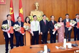 Tỉnh ủy Bà Rịa-Vũng Tàu trao các quyết định điều động, luân chuyển cán bộ
