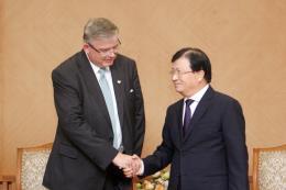 Phó Thủ tướng: Ủng hộ chủ trương đầu tư điện mặt trời của Scatec Solar