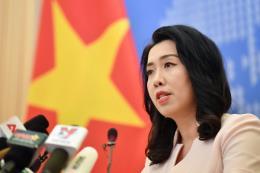 Yêu cầu Trung Quốc rút Tàu khảo sát Hải Dương 8 và tàu hộ tống ra khỏi vùng biển Việt Nam