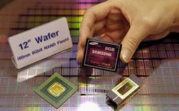Thị phần của Samsung Electronics trên thị trường chip flash NAND tăng nhanh