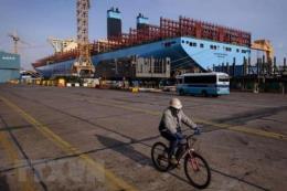 Ngành đóng tàu Hàn Quốc đối mặt với cạnh tranh khốc liệt từ Trung Quốc